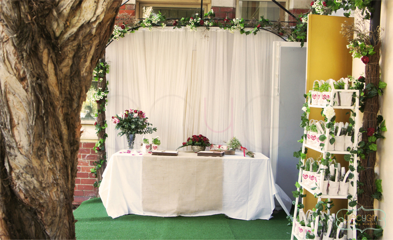 Rustic Wedding Aisle Decorations
