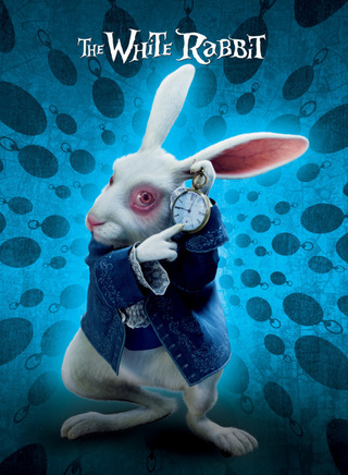 alice in wonderland, white rabbit tim burton, disney blog