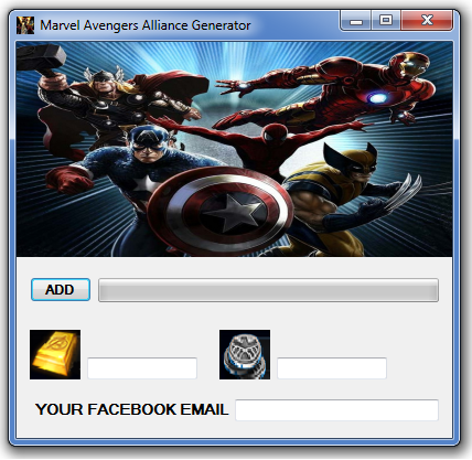 Marvel Avengers Alliance Generator