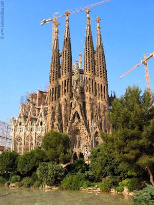 Barcelona, Spain, Sagrada Família