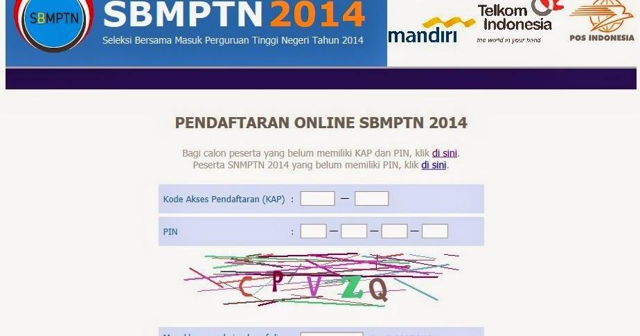 Ketentuan Penting Pendaftaran Online Sbmptn 2014 Sbmptn 2017 Soal Dan Pembahasan