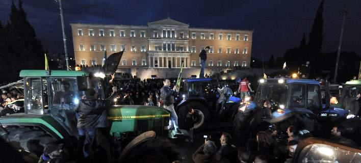 Οι αγρότες ετοιμάζουν «απόβαση» στην Αθήνα -«Αποσύρετε το ασφαλιστικό αν θέλετε να πάτε στα χωριά σας»