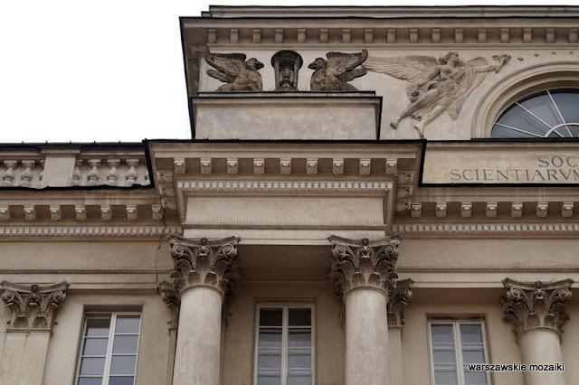 Warszawa Krakowskie Przedmieście Polska Akademia Nauk pałac Śródmieście