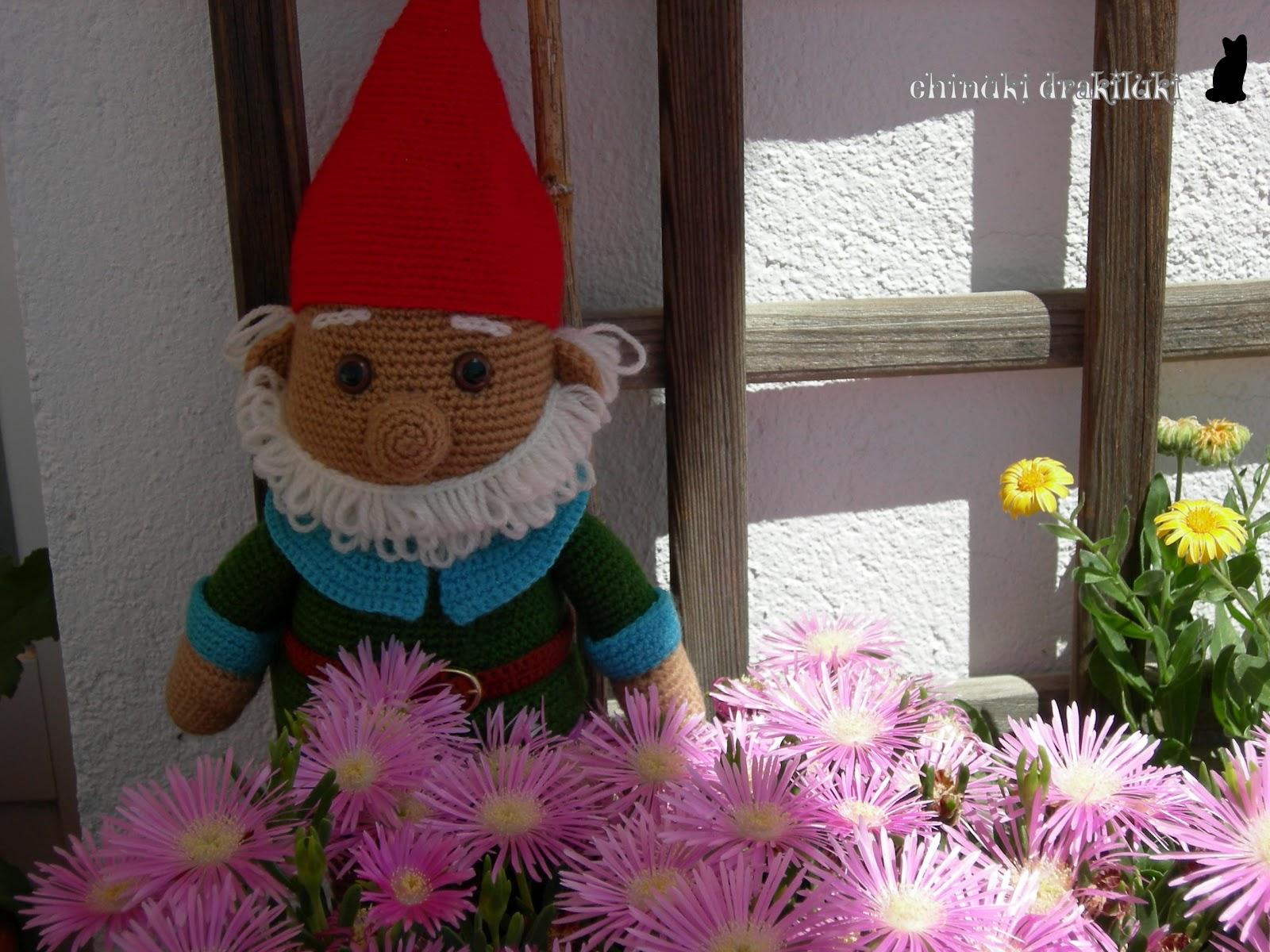 El diario del chinuki drakiluki enano de patio for Enanos jardin