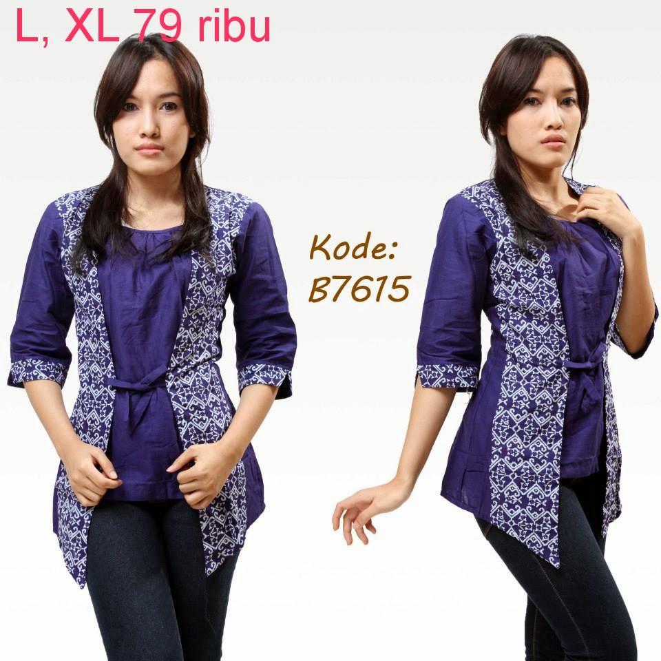 Model Atasan Baju Batik   Model Baju Batik