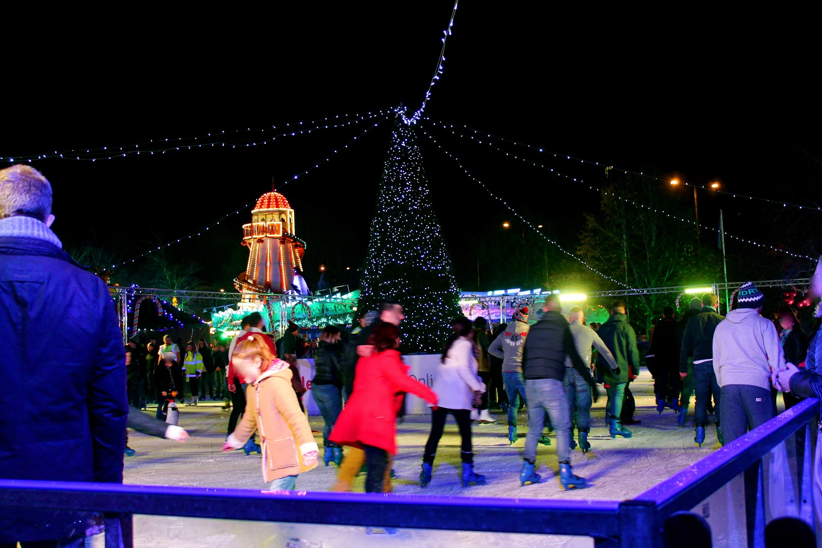 cardiff winter wonderland ice rink