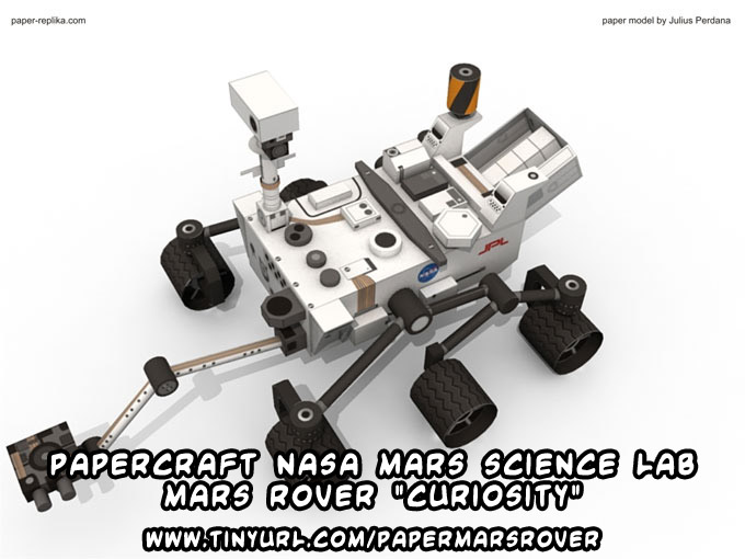 mars rover papercraft - photo #8