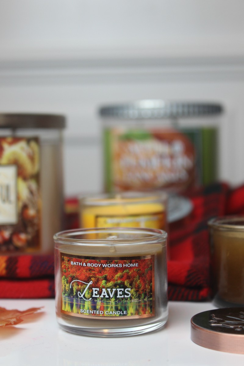 Bath and Body Works Autumn Candle Haul