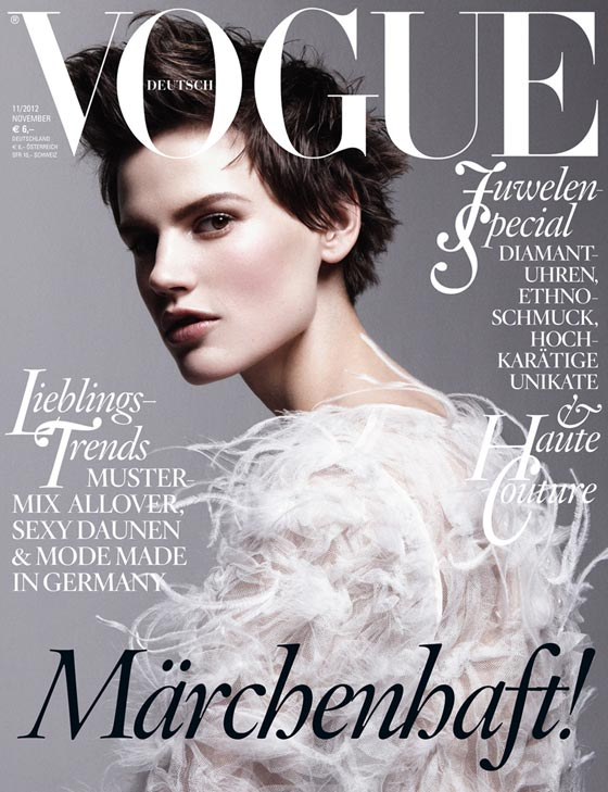 vogue germany november 2012