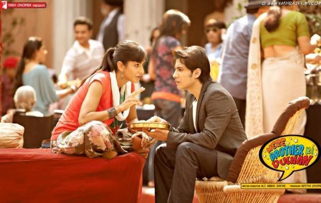 Mere Brother Ki Dulhan Katrina, Imran n Ali Zafar Movie Stills