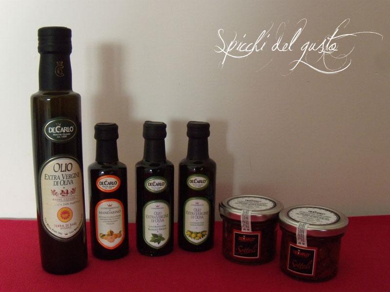 de carlo l'olio aromatizzato per le tue ricette speciali