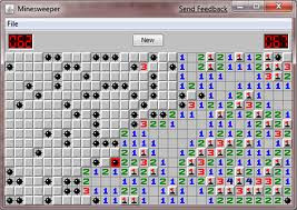 Windows XP Minesweeper