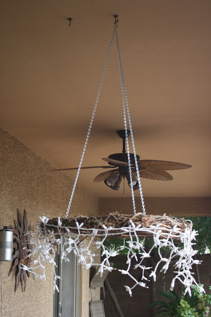 The Project Table Diy Icicle Chandelier