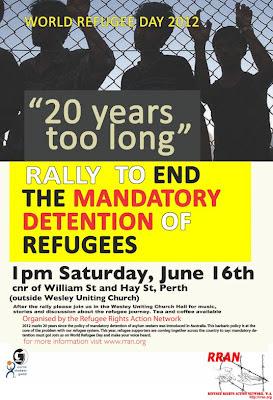 World Refugee Day - Sat 16 June
