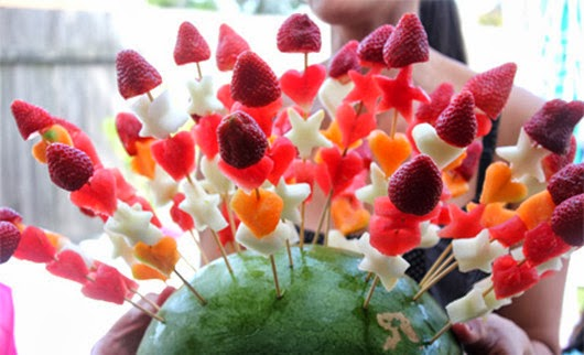 fruit healthy birthday party food