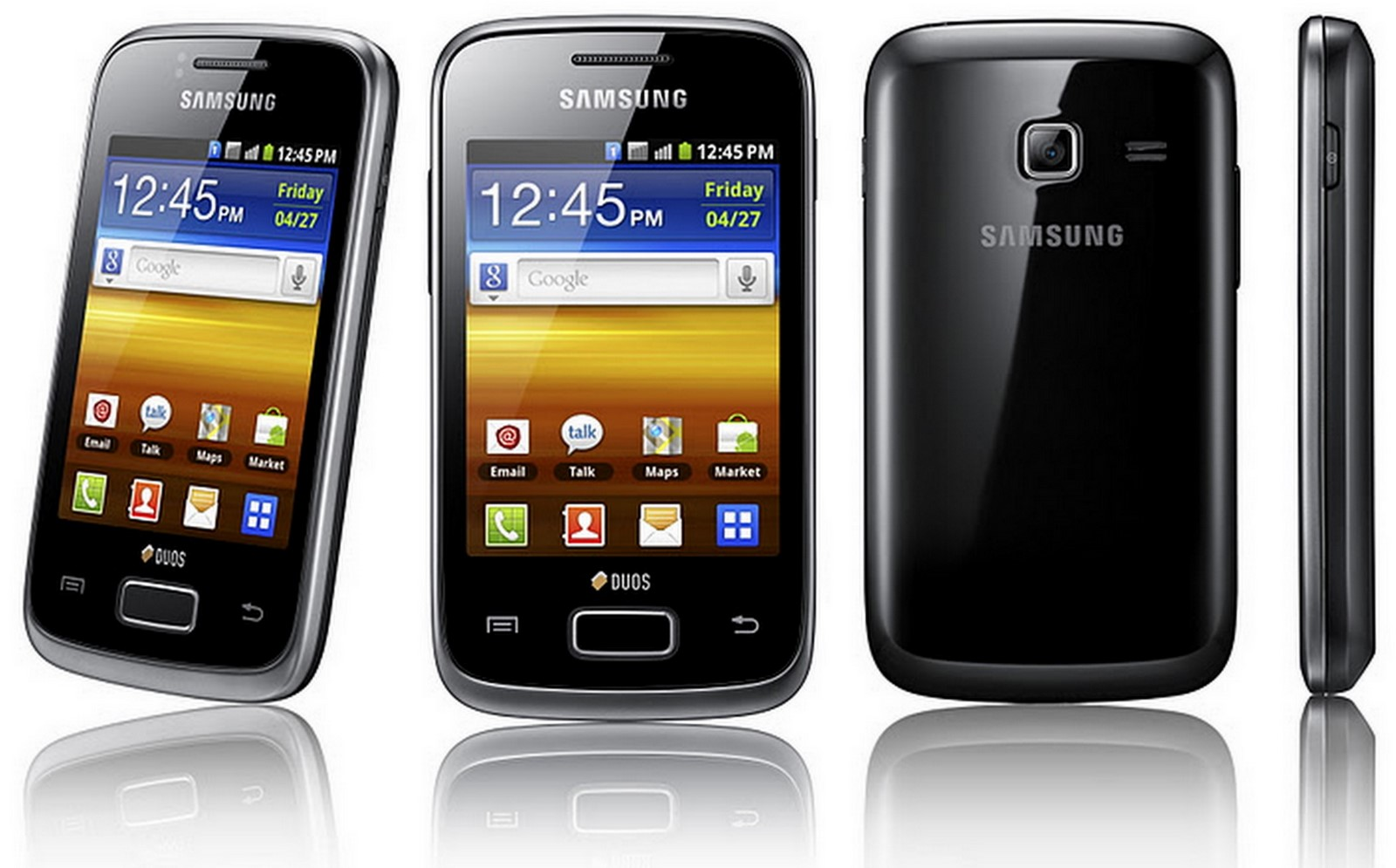 Galaxy Y Duos: Samsung Y Level Up