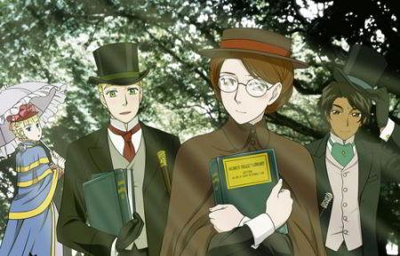 Emma Anime Romance Victoriano