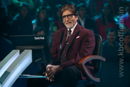 Kaun Banega Crorepati excluisve Amitab bachchan first day photo