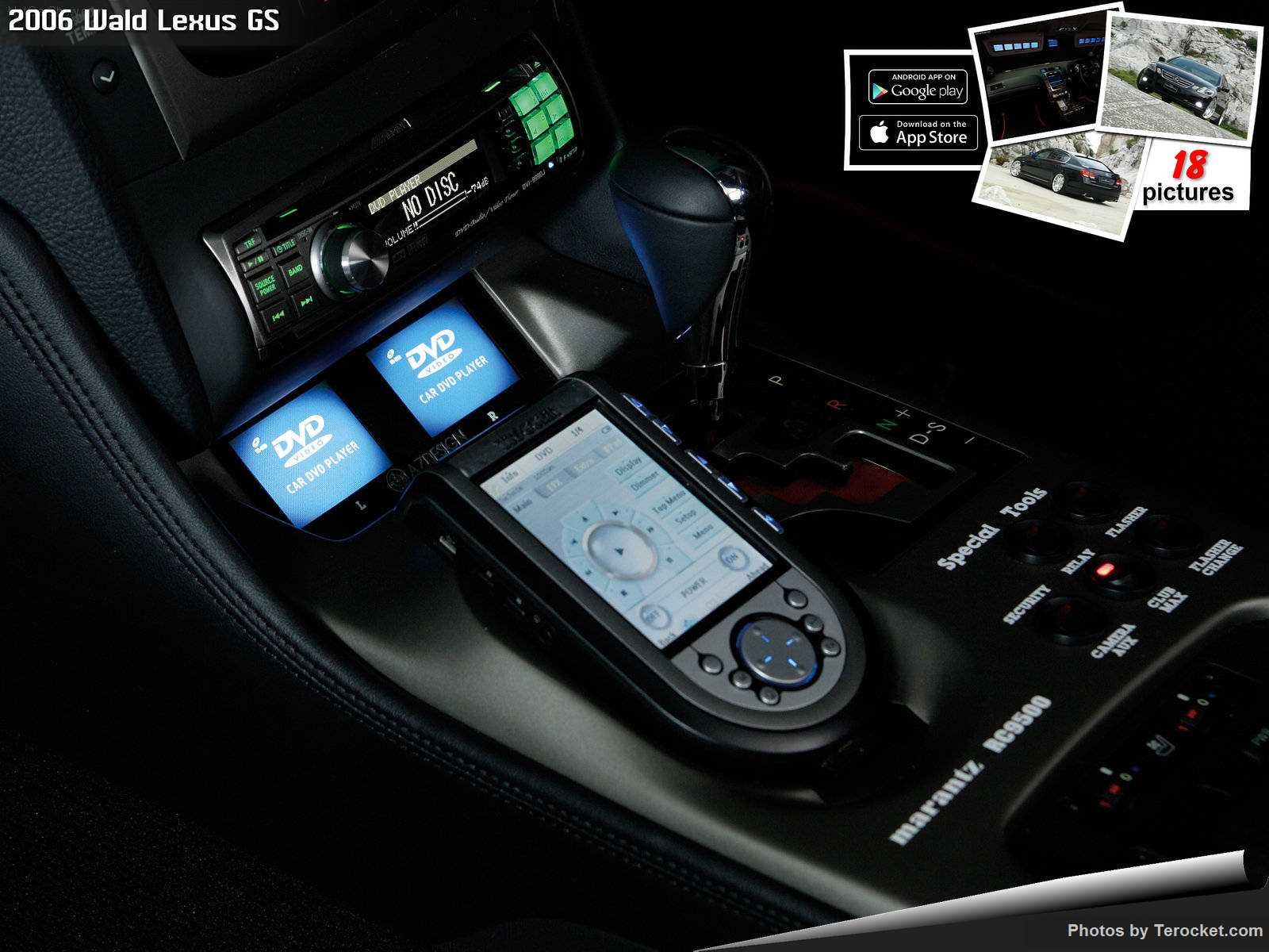 Hình ảnh xe độ Wald Lexus GS 2006 & nội ngoại thất