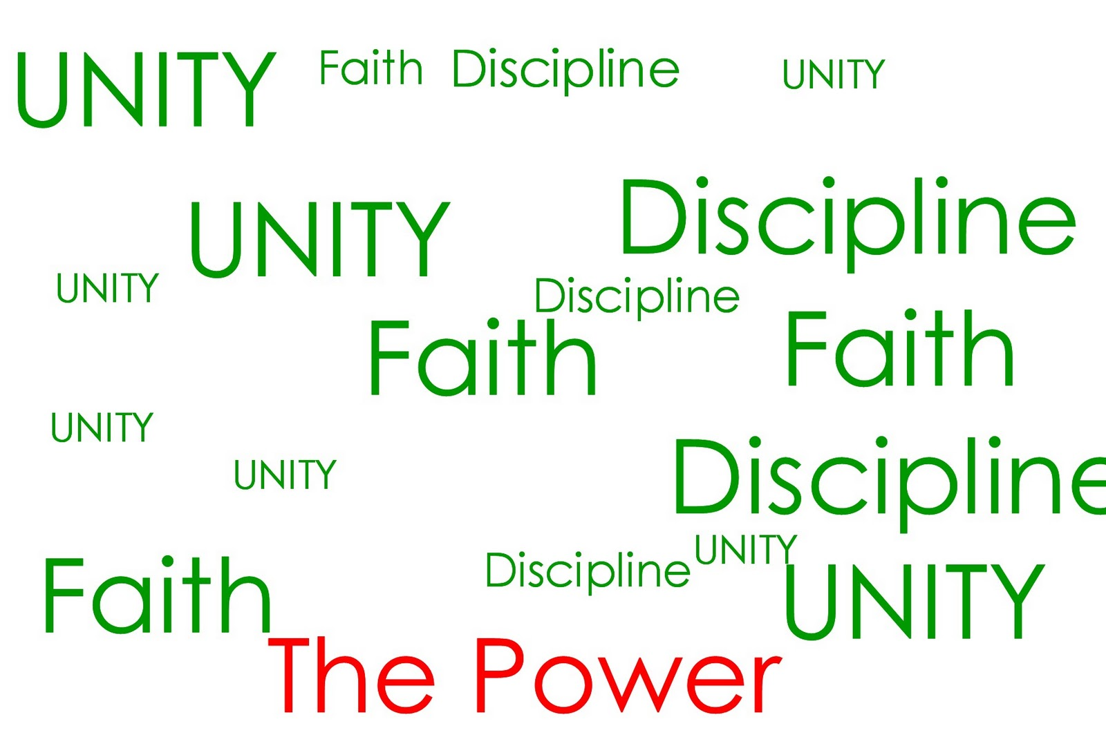 essay on unity faith discipline the foundation of pakistan