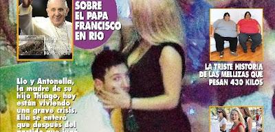Beredar Foto Lionel Messi Bersama Penari Striptis