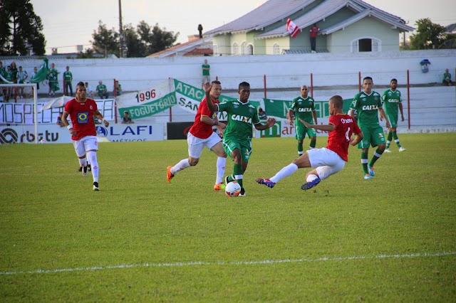 Chapecoense perde em Lages e é eliminada do Catarinense.
