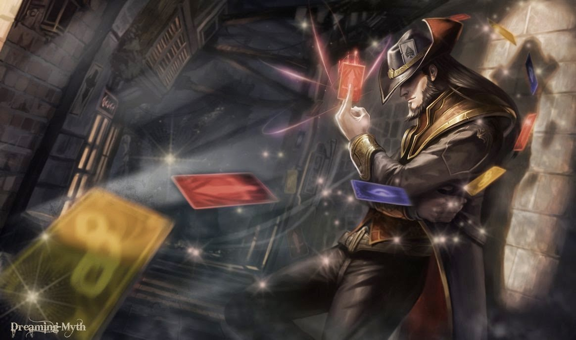 twisted fate league of legends wallpaper twisted fate