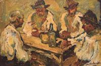 La han (ulei pe carton) Rudolf Schweitzer Cumpana