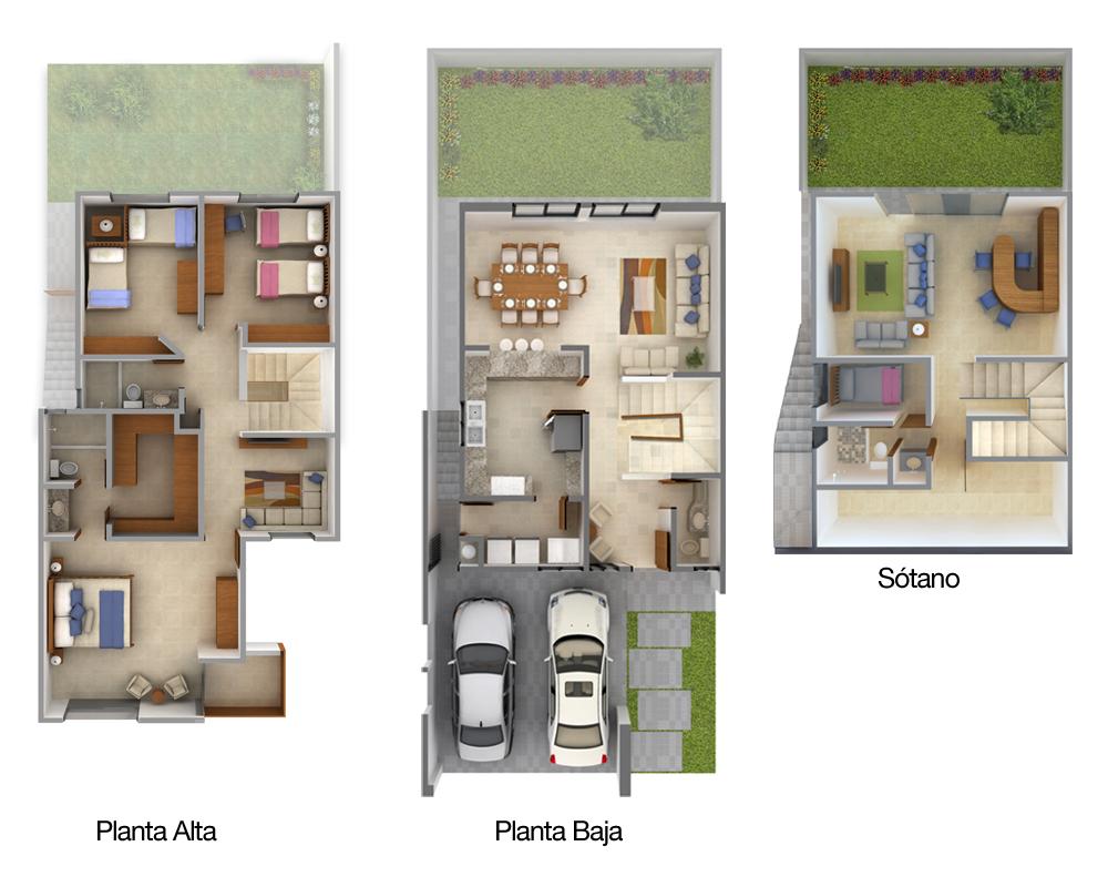 Planos de casas y plantas arquitect nicas de casas y for Casa de dos plantas wifi