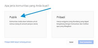 Cara Membuat Komunitas Google Plus 3