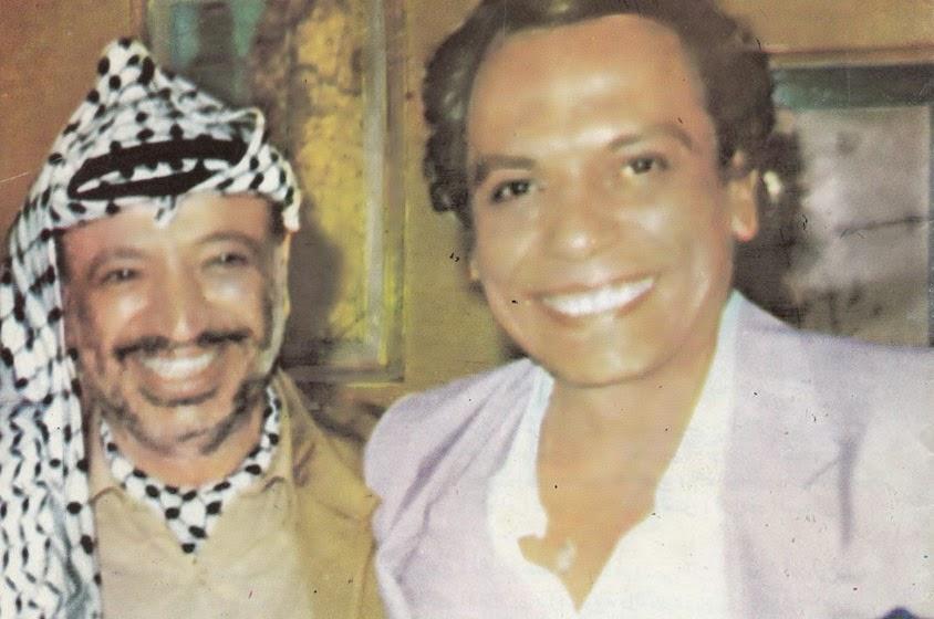 الهدية التي اهداها ياسر عرفات للفنان عادل امام