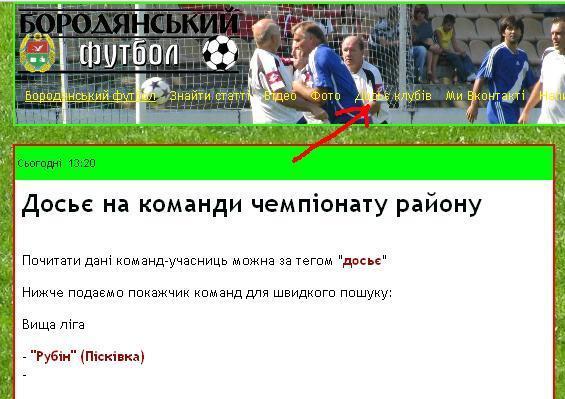 Бородянка, районна федерація футболу