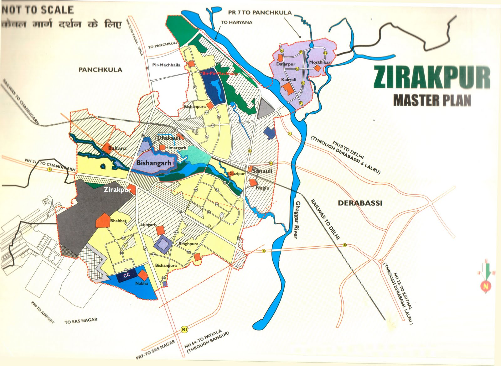 Zirakpur India  city images : Zirakpur: Projects in Zirakpur