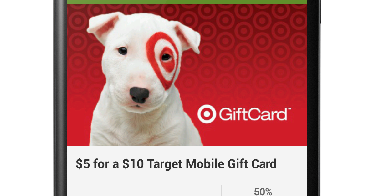 FREE IS MY LIFE GROUPON Pay 5 For A 10 Target Gift Card