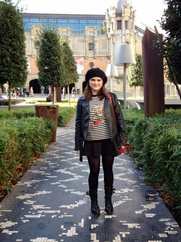 Street style la gente guapa de bilbao olatz cbf con for Styling bilbao