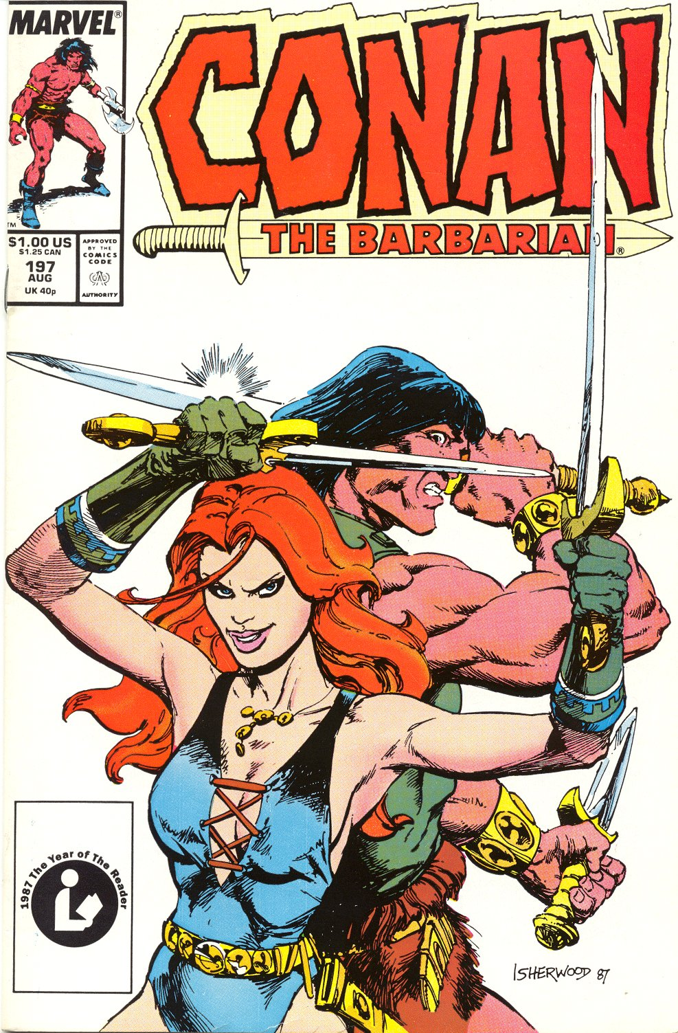 Conan the Barbarian (1970) Issue #197 #209 - English 1