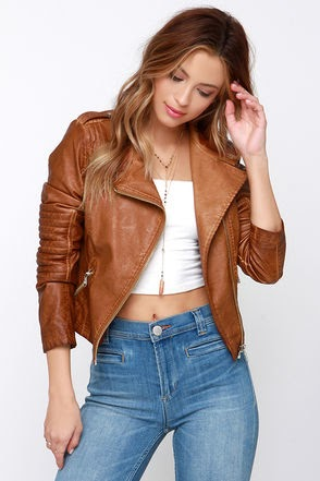 Trends For Brown Leather Jacket Outfit Women | Fashion&39s Feel