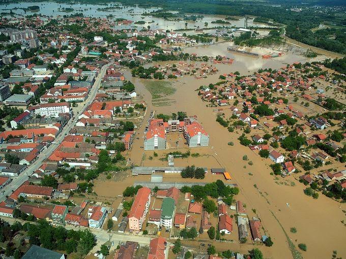 SerbianFloods Obrenovac