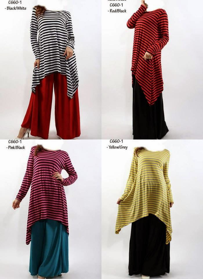 Blouse Heliza Stripes