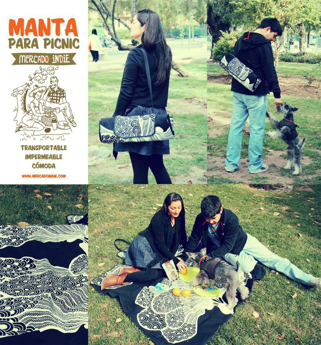 Mercado indie octubre 2012 - Manta de picnic ...