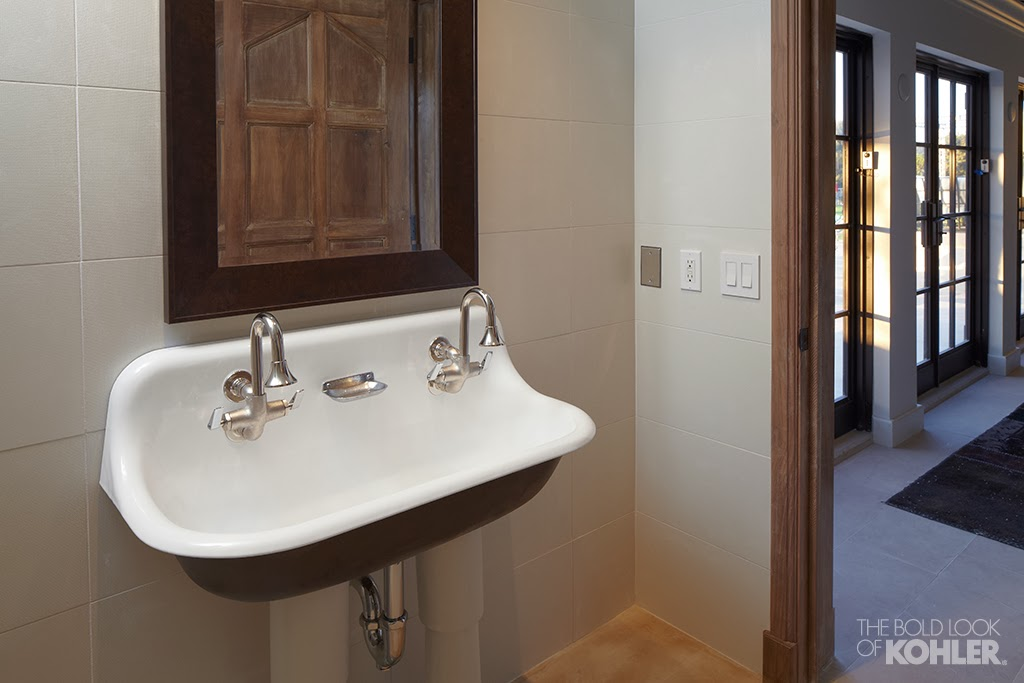 some examples of the sink installed in homes