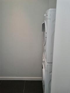 Lavadora y secadora en torre