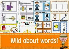 Vocabulary based ideas & printables