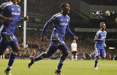 Tottenham Hotspurs 1 - 1 Chelsea (1)