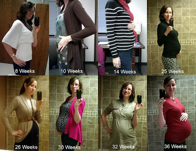 Baby Bump Progression