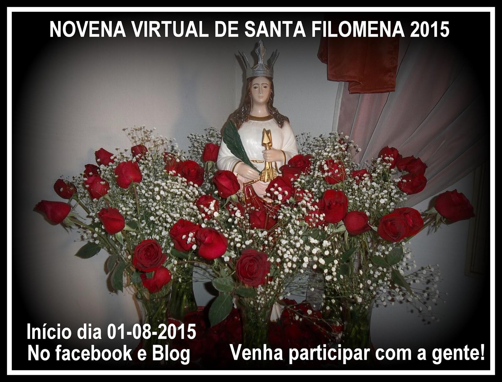 Resultado de imagem para Novena a Santa Filomena