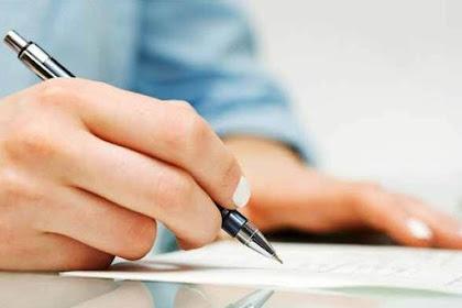 Cara Penulisan Contoh Surat Pernyataan