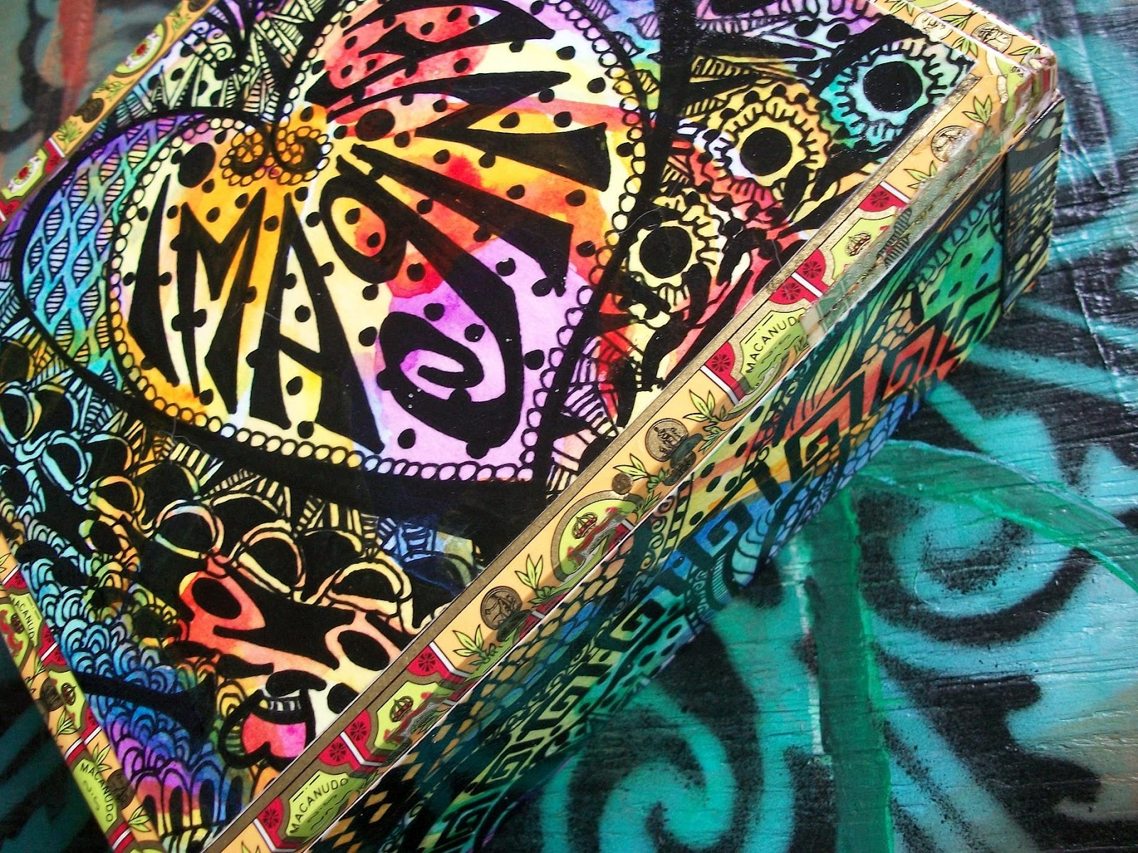 dreama one more time hippie art