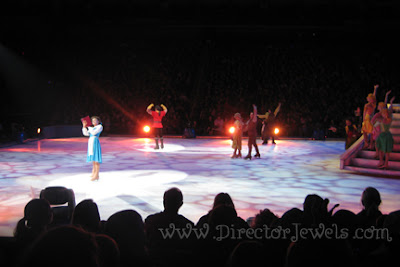 rapunzel, ariel, merida, belle, mickey mouse, minnie, goofy, donald duck, disney on ice, rockin ever after, sprint center, skating horse