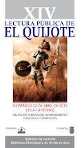 """XIV Lectura pública de """"El Quijote"""""""
